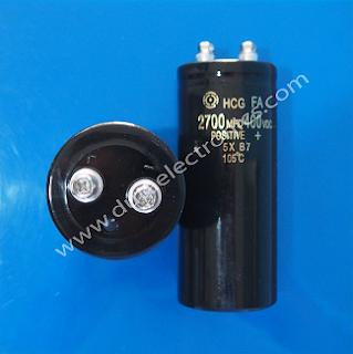 Jual Capacitor 2700 MFD 400VDC Terlengkap Murah Original