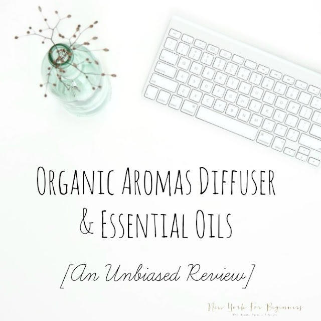Review of organic aromas essential oil diffuser