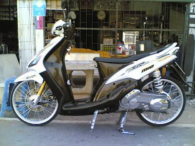 Top modifikasi motor mio 2008
