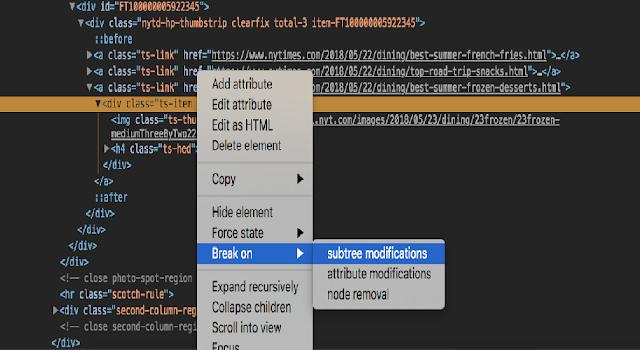 Tips and Tricks for Chrome Dev Tools / Google Developer Tools