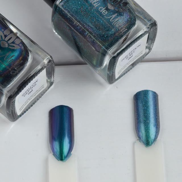 nail polish comparison