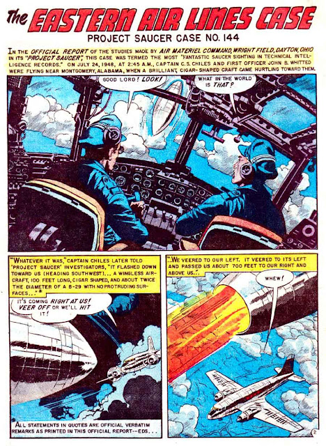 Weird Science-Fantasy v1 #26 ec comic book page art by Wally Wood