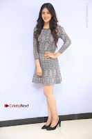 Actress Chandini Chowdary Pos in Short Dress at Howrah Bridge Movie Press Meet  0026.JPG