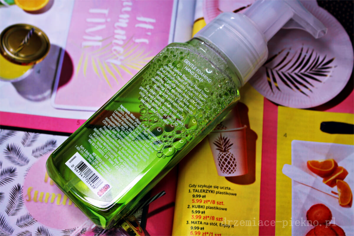 Bath & Body Works Cucumber Melon - mydło w piance