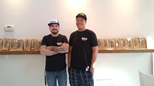 Chef Lawrence Hui and Sous Chef Matt