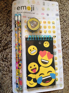 emoji stationery, emoji eraser, emoji school supplies, emoji target, emoji poop pencil sharpener, emoji gifts, emoji Christmas, emoji stocking stuffer, emoji teen