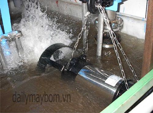 Máy khuấy chìm Đài Loan, giá rẻ - Đại lý máy bơm nước