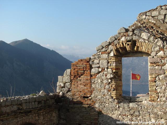 Которская крепость, Черногория
