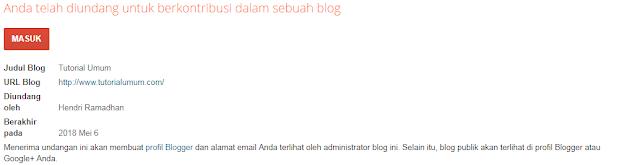 Cara Mengganti, Menghapus, atau Menambah Admin Blog di Blogger