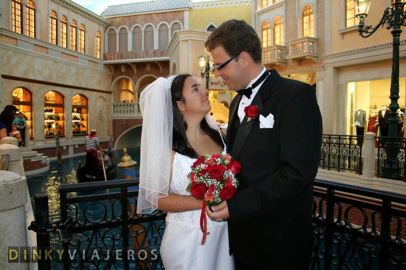 Boda en Las Vegas. Hotel Venetian