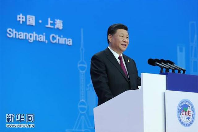 Chủ tịch Tập Cận Bình đã có bài phát biểu đầy tự tin và nhiều ẩn ý tại lễ khai mạc CIIE 2018