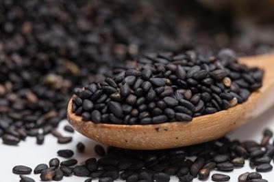 งาดำ (Black Sesame) @ www.1mhealthtips.com
