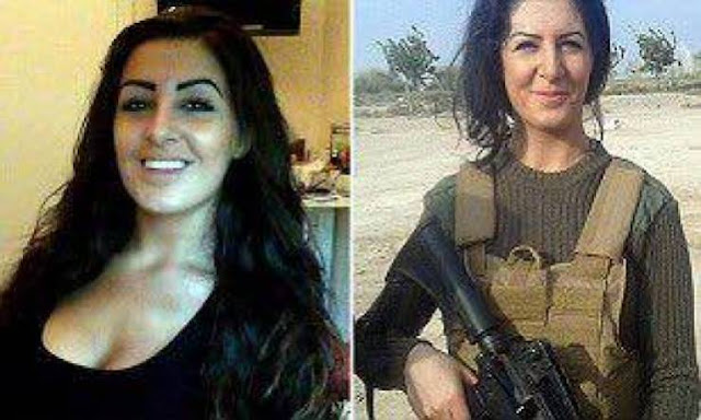 """هذه الفتاة ذهبت لقتال """"داعش"""" وحين عادت الى بلدها حصل ما لم تتوقعه! لو كنتم مكانها ماذا ستفعلون؟"""