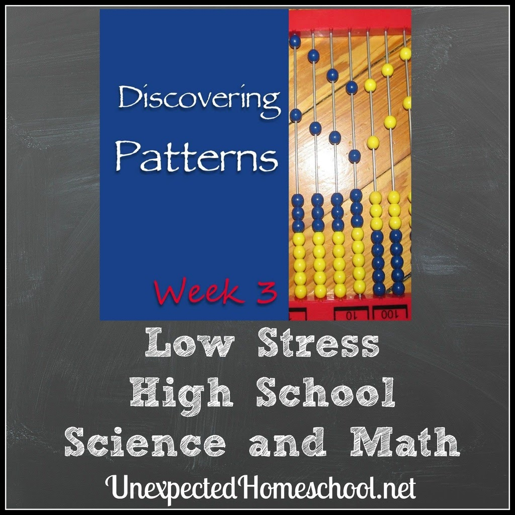 http://www.unexpectedhomeschool.net/2017/01/low-stress-high-school-science-and-math.html