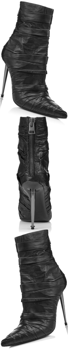 TOM FORD NAPPA SOFT WRAP MIDI BOOT