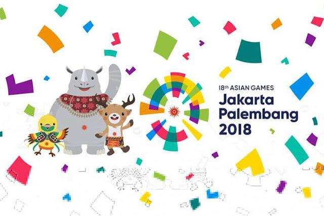 daftar games yang terpilih di asian games 2018