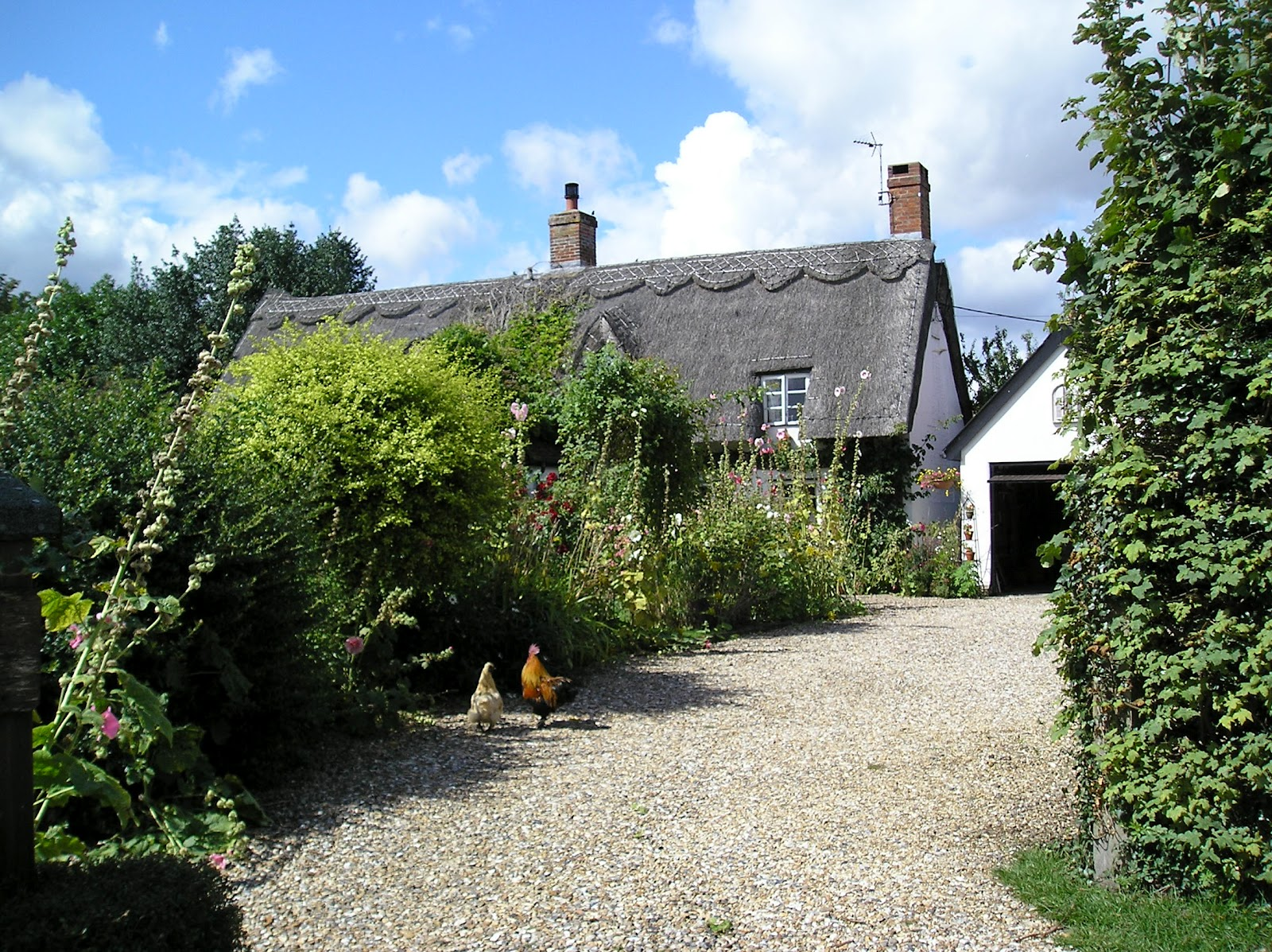 English Country Cottage Gardens