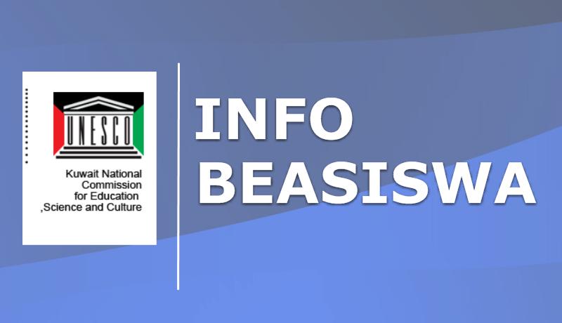 Penerimaan Beasiswa Dari Kuwait National Commissions For UNESCO Tahun 2019