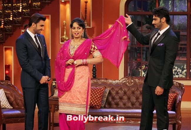 Ranveer Singh, Upasana Singh and Arjun Kapoor, Gunday Promotion on Comedy Nights with Kapil