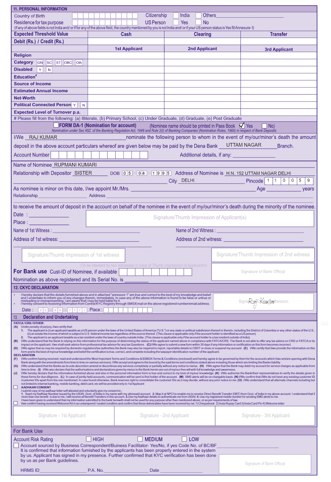 02 Online Form Fill Up Job In India on