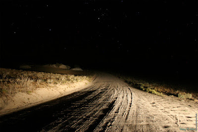 Dirt road at night. Photo credit Jeremy Grasz, https://www.flickr.com/photos/gisch/