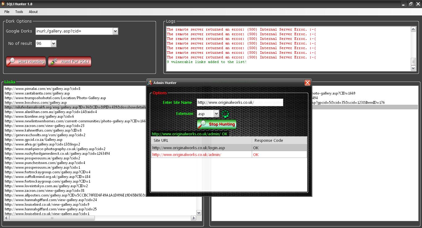 Sql Poizon Sqli Exploit Scanner Tool - lostresearch