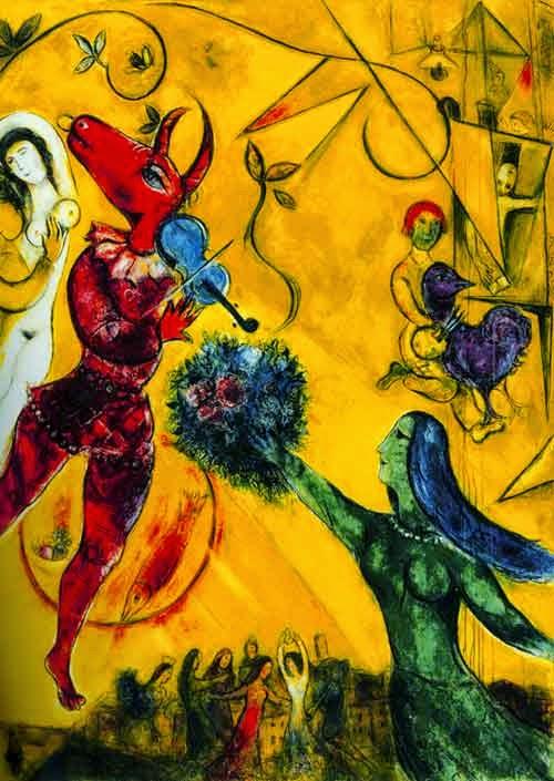A Dança - O Surrealismo glorioso de Marc Chagall