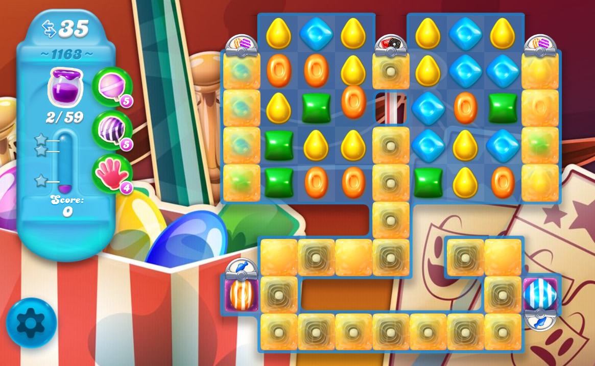 Candy Crush Soda Saga level 1163