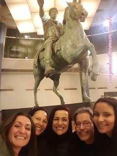 Museus Capitolinos marco aurelio estatua equestre turismo roma guia portugues - Museus Capitolinos, os museus mais antigos do mundo