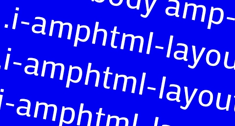Problem CSS i-amphtml- name prefix AMP Template