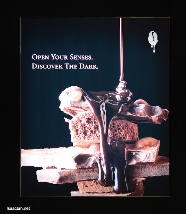 Open your senses , discover the dark