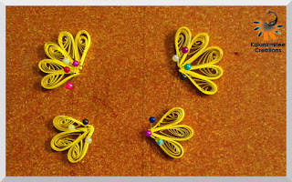 kalanirmitee: Paper quilling-quilled butterfly- quilled butterfly tutorial-quilling ideas