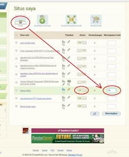 easy5 Cara Mudah Daftar dan Meningkatkan Traffic Blog/Web di Easyhits4u
