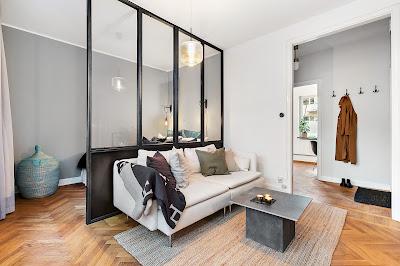 Amenajare practică într-o garsonieră de 39 m²