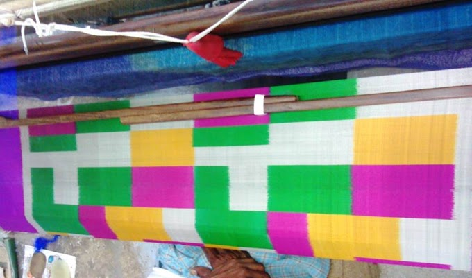 Handloom Silk Ikat Saree