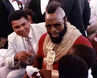 Mr T calls Muhammed  Ali his hero