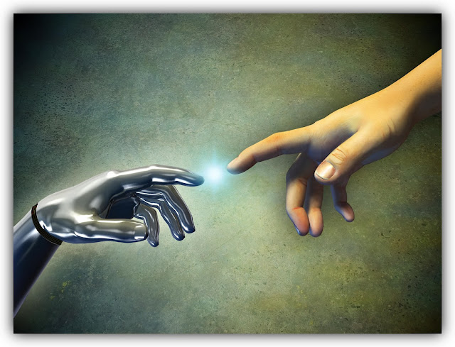Fingers of Cyborg and Human Approach