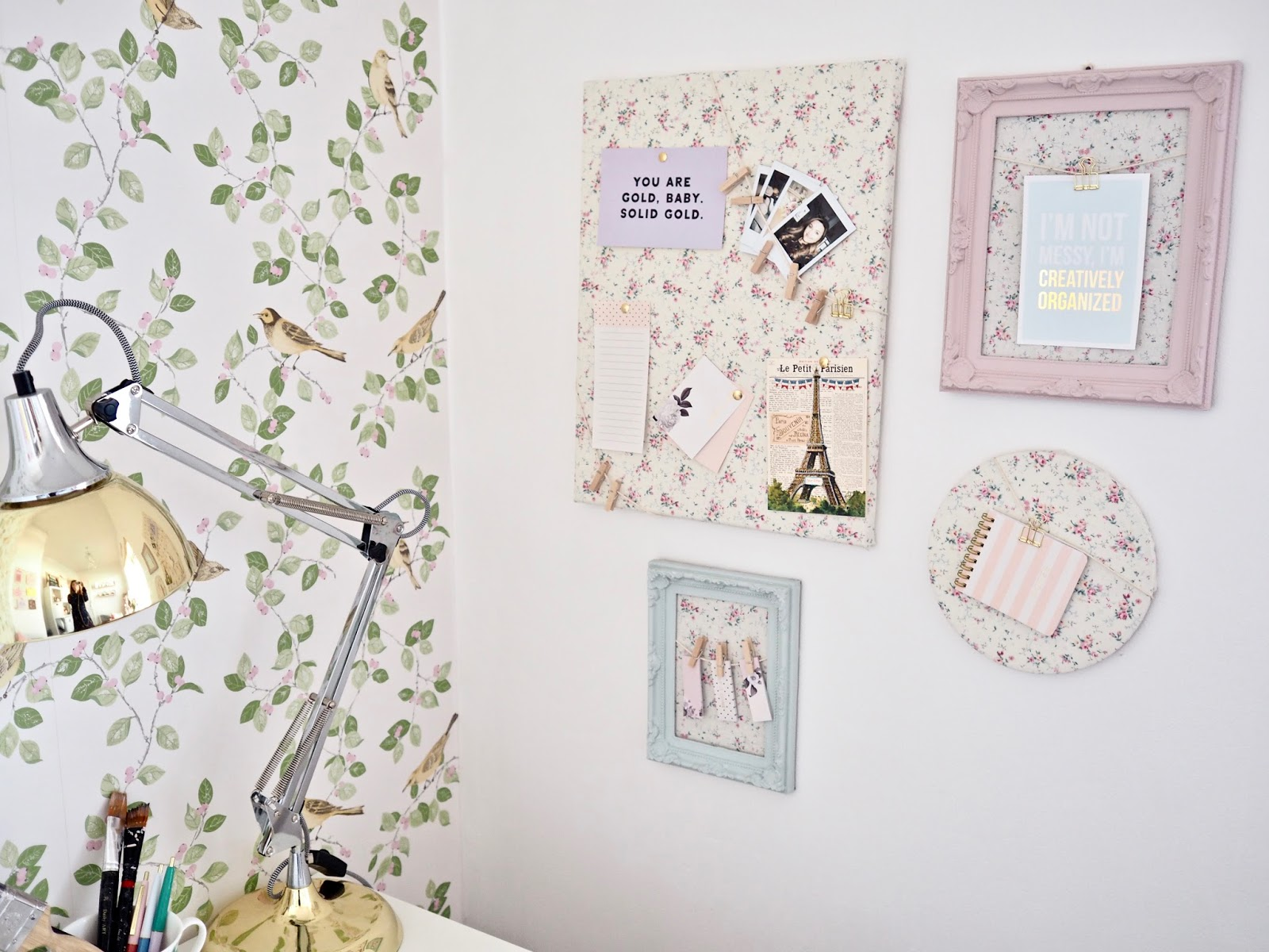Easy Diy Fabric Noticeboards No Sew Dainty Dress Diaries