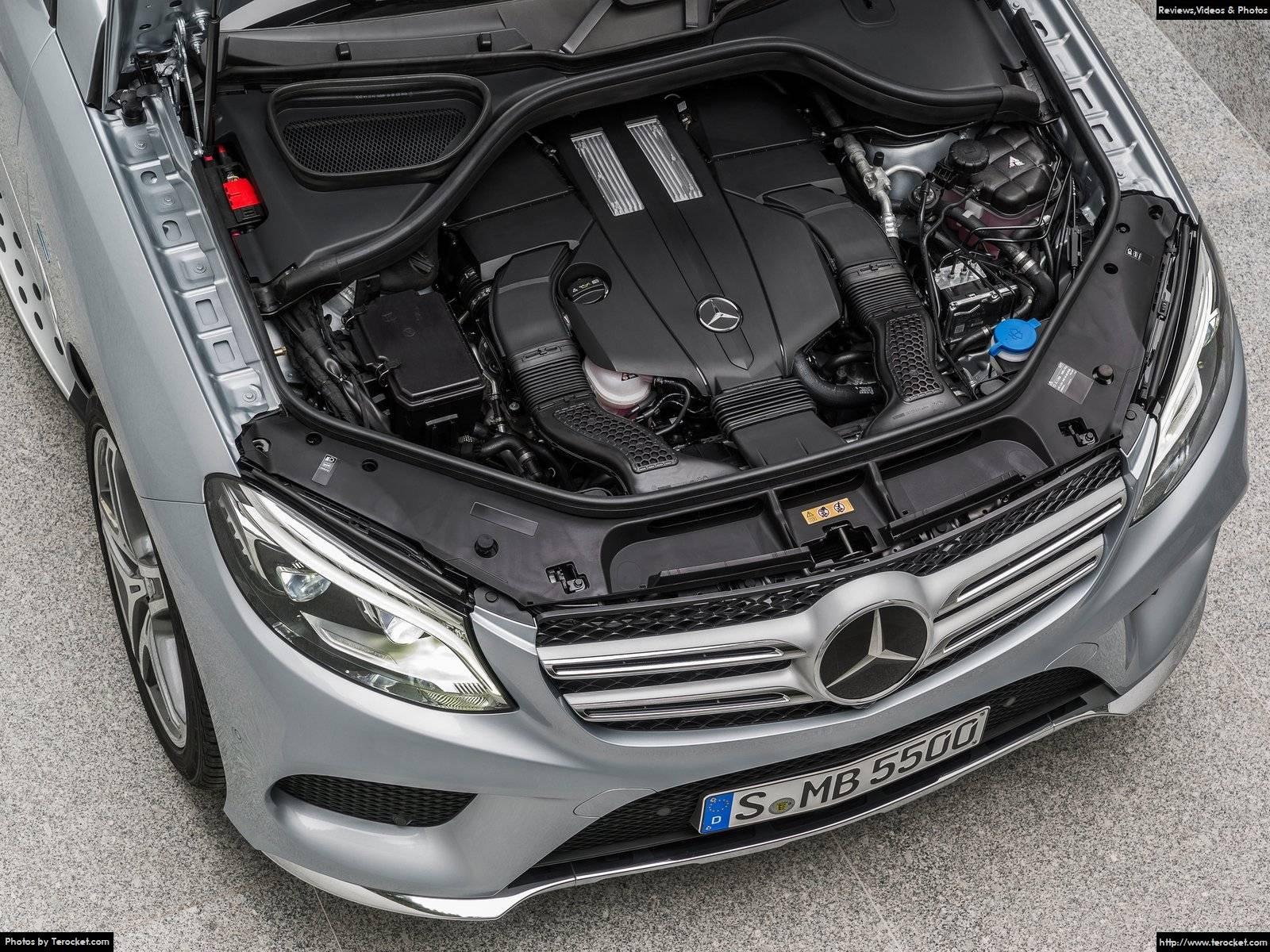 Hình ảnh xe ô tô Mercedes-Benz GLE 2016 & nội ngoại thất