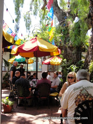 patio of Casa Guadalajara in San Diego, California