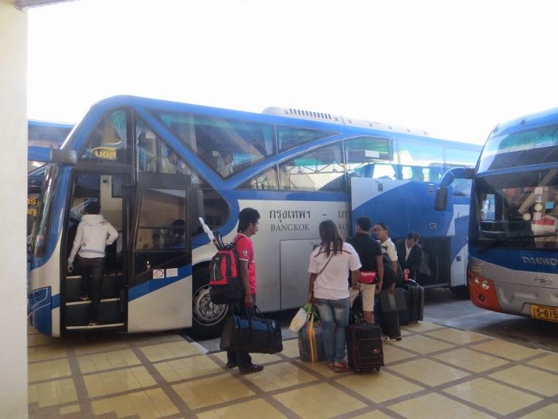 Автобус Самуи Бангкок