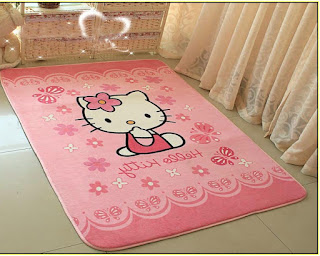 Gambar Karpet Hello Kitty yang Lucu 1