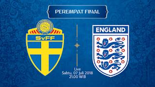 Prediksi Inggris vs Swedia