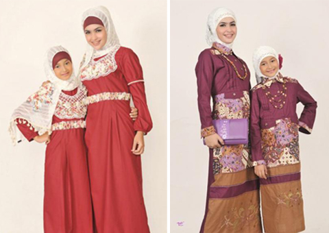 model baju muslim ibu dan anak