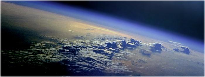 vida quase extraterrestre na alta atmosfera?
