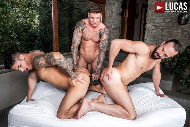 LucasEntertainment - GEORDIE JACKSON USES APOLO FIRE AND ANDY ONASSIS' HOLES