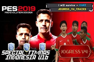 Textures PES 2019 Jogress V4 Update National Team Indonesian