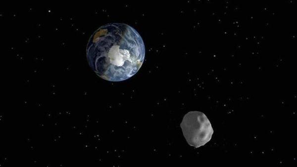 Tres asteroides pasarán muy cerca de la Tierra el sábado