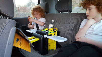 Bubblebum Junkie car tidy - Back Seat Organisation Review