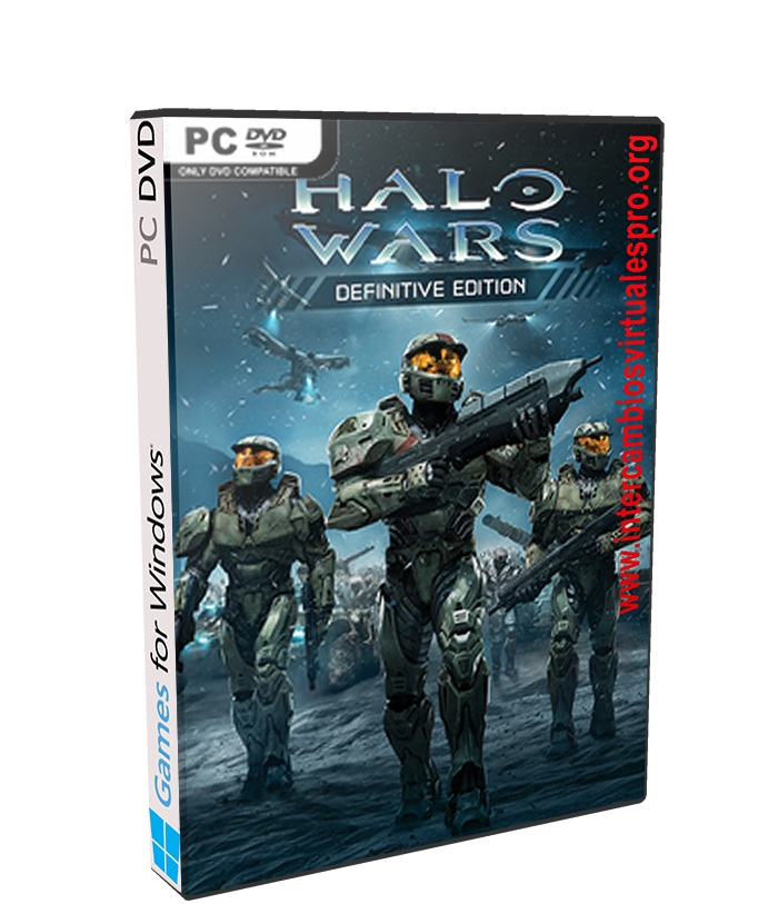 Halo Wars Definitive Edition poster box cover